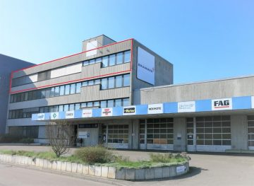++ markante Sichtlage an der B10 ++ teilbar ab ca. 160 m² ++, 70327 Stuttgart, Büro/Praxis