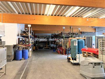 ++ Bestandsimmobilie in verkehrsgünstiger Lage + Freifläche mit ca. 500 m² ++, 71665 Vaihingen, Halle/Lager/Produktion